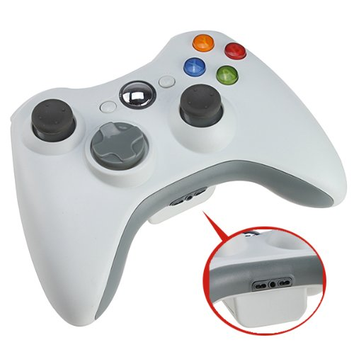 Remote Controller Wireless for Microsoft Xbox 360 with Adjustable Vibration Feedback for Longer Battery Life