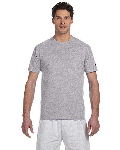 Champion -  T-shirt - Uomo chiaro acciaio Large