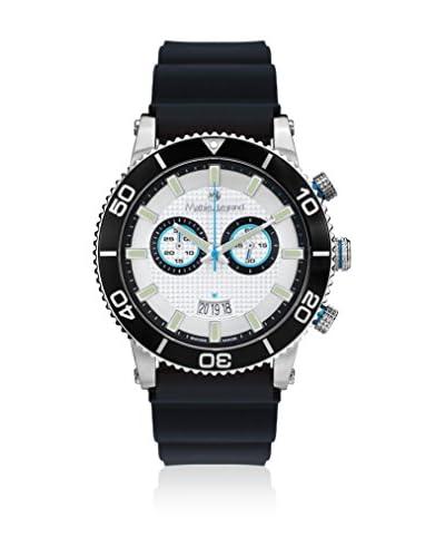 Mathieu Legrand Reloj de cuarzo MLG-1004A Negro 45 mm