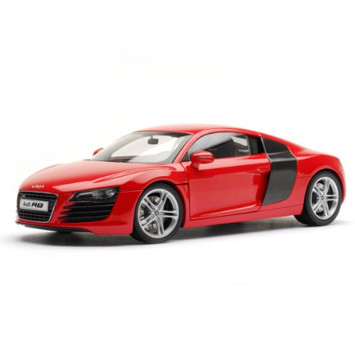 KYOSHO 09213R 1:18 AUDI R8 DIECAST CAR RED
