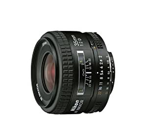Nikon AF FX NIKKOR 35mm f/2D Fixed Zoom Lens with Auto Focus for Nikon DSLR Cameras