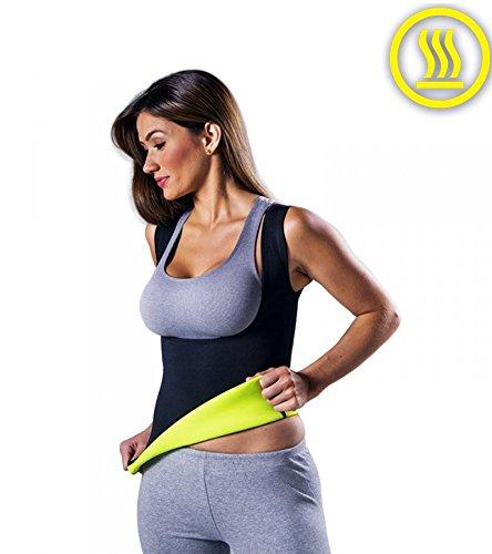 ¡Exclusiva camiseta reductora para con la nueva tecnología Neotex! ¡Pierdes peso fácilmente con esta camiseta reductora! ¡Modela y adelgaza emanando calor en los puntos críticos! Ideal para utilizar durante el entrenamiento pero también en el trabajo o en casa  - ¡Tres capas! ¡Suda, absorbe y evapora! Talla XXL /2XL Extra extra Large.