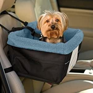 Kurgo Rover Dog Booster Seat, Black/Blue