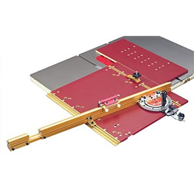 Online Purchase Incra MITER5000 Miter 5000 Table Saw Miter Gauge with Sled and Telescoping Fence
