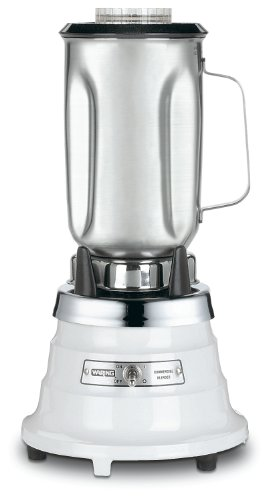 Waring Commercial 700S Single-Speed Food Blender With Stainless Steel Container, 32-Ounce