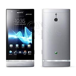 Sony Mobile Xperia P Display 4 Pollici, Wi-Fi, Grigio