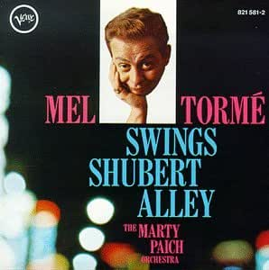 Mel Torme Swings Shubert Alley