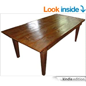Build your own harvest table 6 7 8 or 10 ft long classic for 10 foot long table