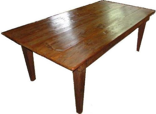 HARVEST TABLE PLANS; Build your own 6, 7, 8 or 10 FT LONG CLASSIC RUSTIC DINING TABLE; Pattern not available in any store!! Easy to follow Step by Step Directions!!