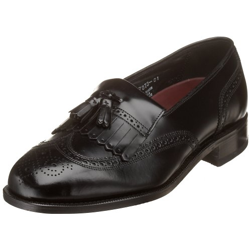 Florsheim Men's Lexington Kilty Tassel Loafer,Black,10 D