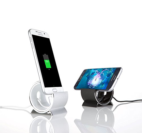 Sinjimoru Aluminum Sync and Charge Dock Stand for Samsung Galaxy S6