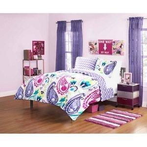 Girls Bedding Purple 7971 front