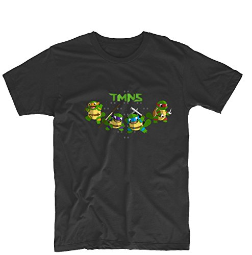Teenage Mutant Ninja Turtles Squirtle TMNT Unisex Printing Design Tee