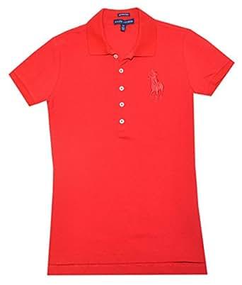 Ralph Lauren Women The Skinny Polo Big Pony Logo Polo T