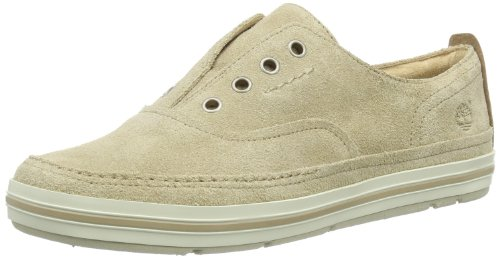 Timberland Women's Earthkeepers Casco Bay Laceless Slip On Trainers Beige Beige (Beige) 41