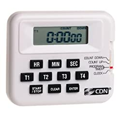 CDN PT1A Digital Timer/Clock 4 Event Programmable