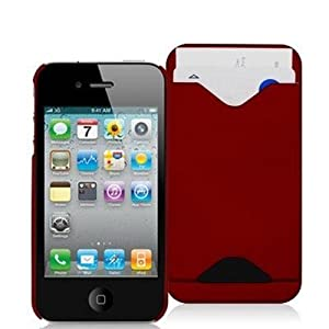 Electromaster Card ID Holder Case for iPhone 4 / 4S