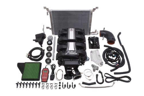 Edelbrock EDL1588 E-Force Street Legal Supercharger Kit for Ford Mustang 5.0L 4V