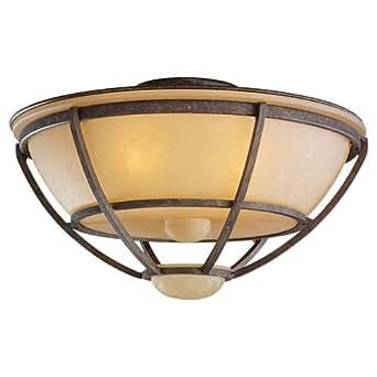 light cage ceiling fan light kit finish old chicago caged ceiling. Black Bedroom Furniture Sets. Home Design Ideas