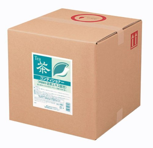 スクリットお茶シリーズコンディショナー詰替18Lバックインボックス熊野油脂4330