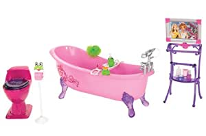 barbie glam bathtub toys games. Black Bedroom Furniture Sets. Home Design Ideas