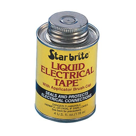 Star Brite 84104B Liquid Electrical Tape, 4 Oz Bottle (Case Of 12)