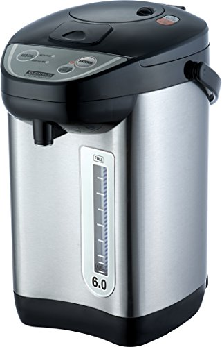 Euro Tech ET6010 6-Quart Hot Water Urn With Auto Dispenser With Shabbat Mode (Urn Water compare prices)