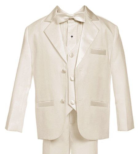 Gino Giovanni Usher Tuxedo Boy Ivory From Baby To Teen (Medium (6-12 Months)) front-766841