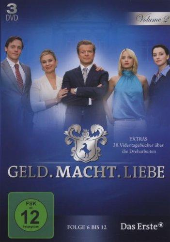 Geld.Macht.Liebe. Volume 2 [3 DVDs]