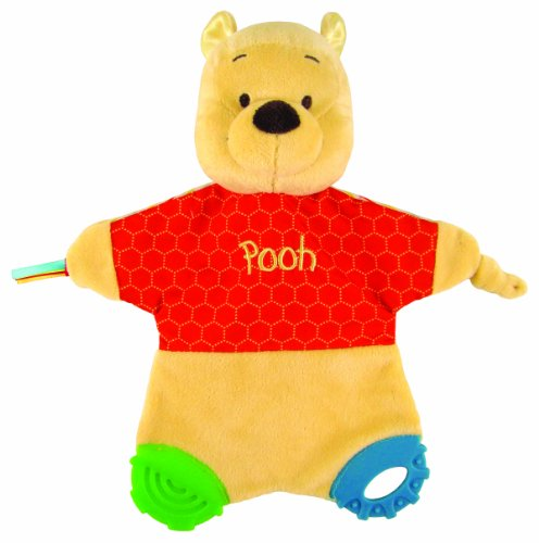 Kids Preferred Classic Pooh Flat Blanky Teether by Kids Preferred
