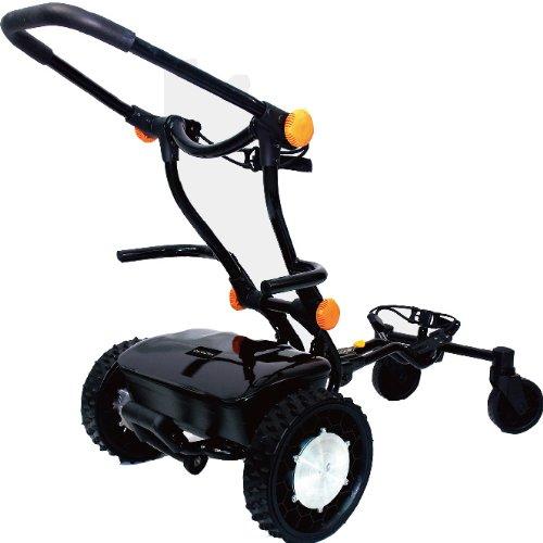 FTR Caddytrek Black Electric Golf Pull Trolley Cart For Clubs Caddy Trek