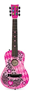 First Act FG4077 Checkered Winged Heart Acoustic