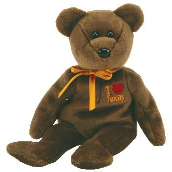 TY Beanie Baby - TEXAS the Bear (I Love Texas - Show Exclusive) - 1