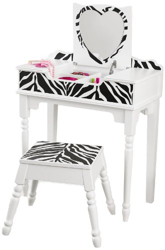 For Kids Only, Inc. Fun and Funky Vanity and Stool
