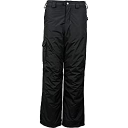 White Sierra Boy\'s Bilko Pant, Black, Large