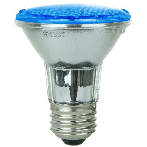 Sunlite 80001-Su Par20/36Led/2W/B Led 120-Volt 2-Watt Medium Based Par20 Lamp, Blue