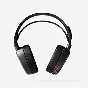 SteelSeries Arctis Pro Wireless Gaming Headset - Lossless High Fidelity Wireless + Bluetooth for PS4 and PC (Certified Refurbished)