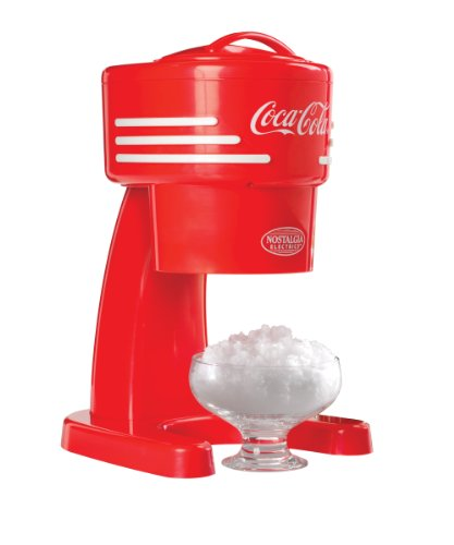 Best Price Nostalgia Electrics RISM900COKE Coca-Cola Series Ice Shaver