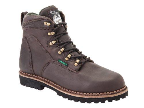 G6303 Georgia Men's Tradesman Safety Boots - Chocolate - 12.
