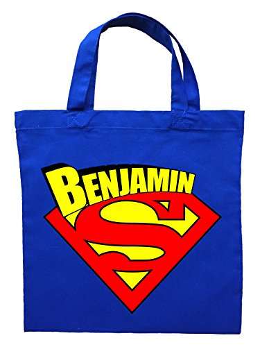 [Superman Trick or Trick Bag - Personalized Superman Halloween Bag] (Trick Or Treat Costumes Images)