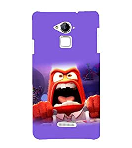 printtech Disneyy Inside Out Angry Back Case Cover for Coolpad Note 3 Lite