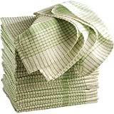 Wonderdry Tea Towels Green. 95% cotton 5% polyester. Quantity: 10.