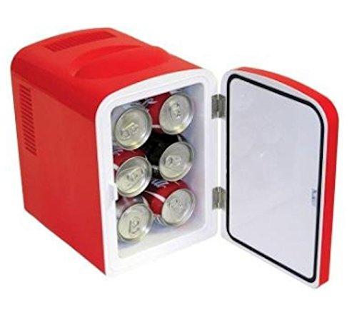 Coca Cola 0.14 cubic foot Retro Fridge in Red 1