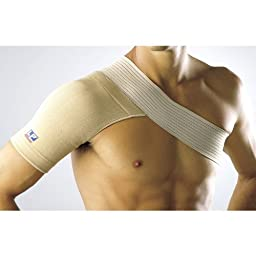 LP Four-Way Stretch Shoulder Support (Unisex; Natural), Small