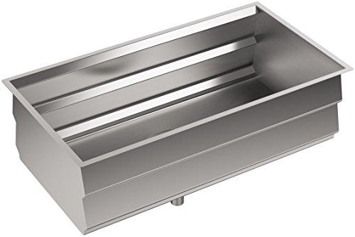 KOHLER K-5540-NA Prolific Undermount Single Bowl Kitchen Sink with ...