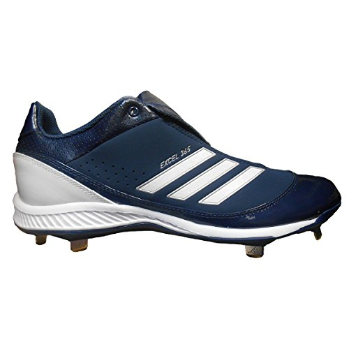 pictures of Adidas Excel 365 Low Men's Metal Baseball Cleats (11, Navy) [Apparel]