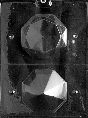 LARGE 3D DIAMOND Wedding Candy Mold Chocolate