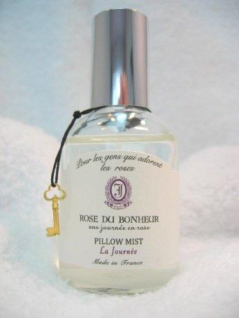 ロタンティック ピローミスト ジョルネ 50ml チャーム付き 木漏れ日に香り立つ薔薇 ベッドまわり ルームスプレー フレグランス 南仏プロヴァンス