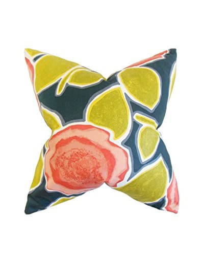 The Pillow Collection 18 Poppy Pillow, Red