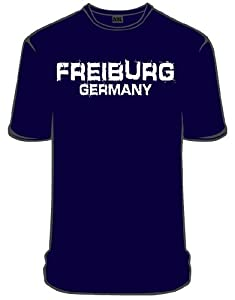 NYC Specials Germany Freiburg T-Shirt, navy blue